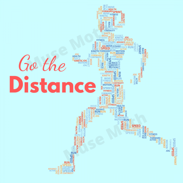 Go the Distance Instagram Post with watermark