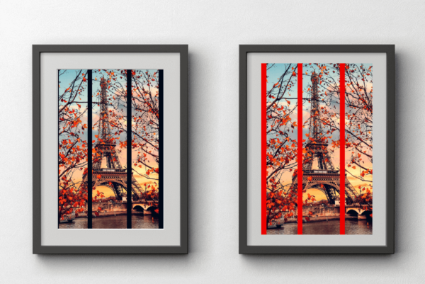 Prints of the Eiffel Tower in Paris