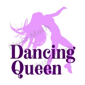 Dancing Queen t-shirt graphic