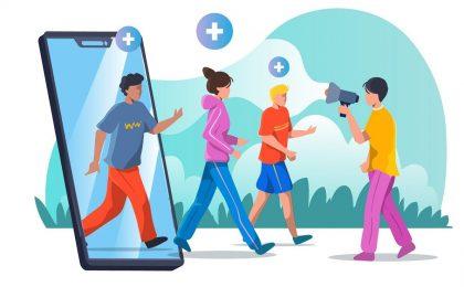 Social media graphics Muse Moth